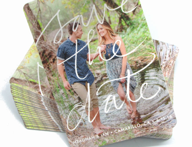 Rustic Garden Wedding Save-the-date Magnet Country Chic Romantic Photo