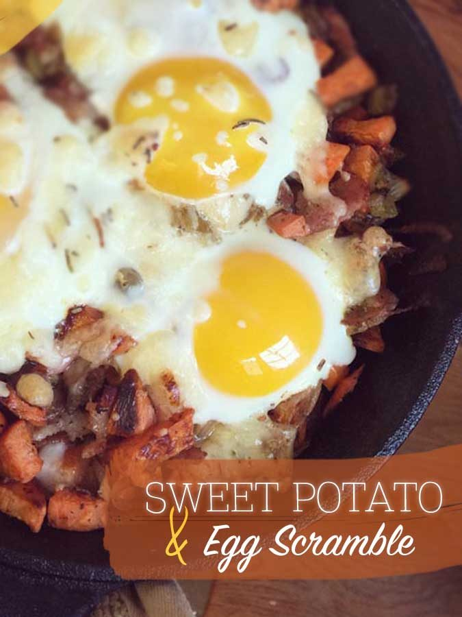 Sweet Potato & Egg