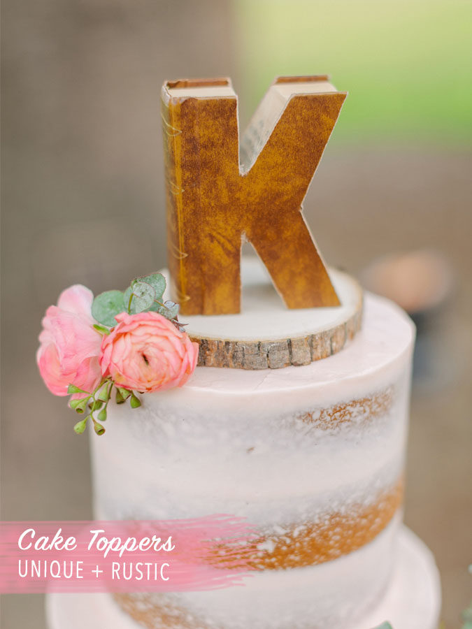 CAKE TOPPER WEDDING IDEAS
