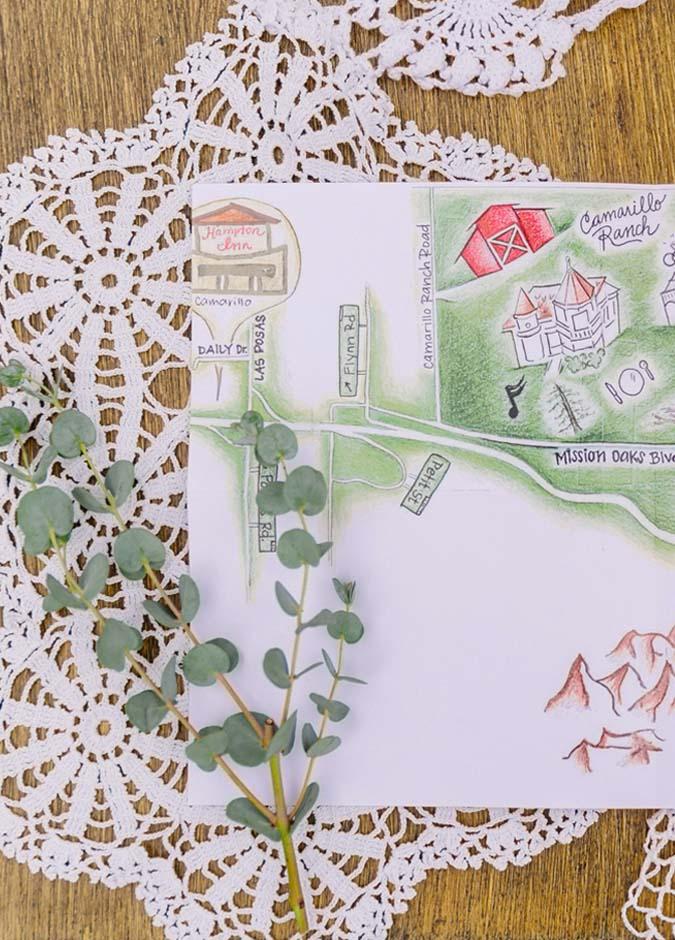 DIY Rustic Farm Barn Wedding Invitations