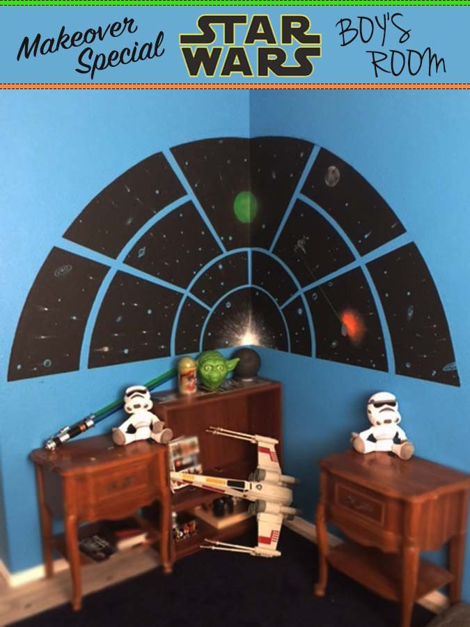 Star Wars Boy's Kid's Room Idea Wall Mural Art