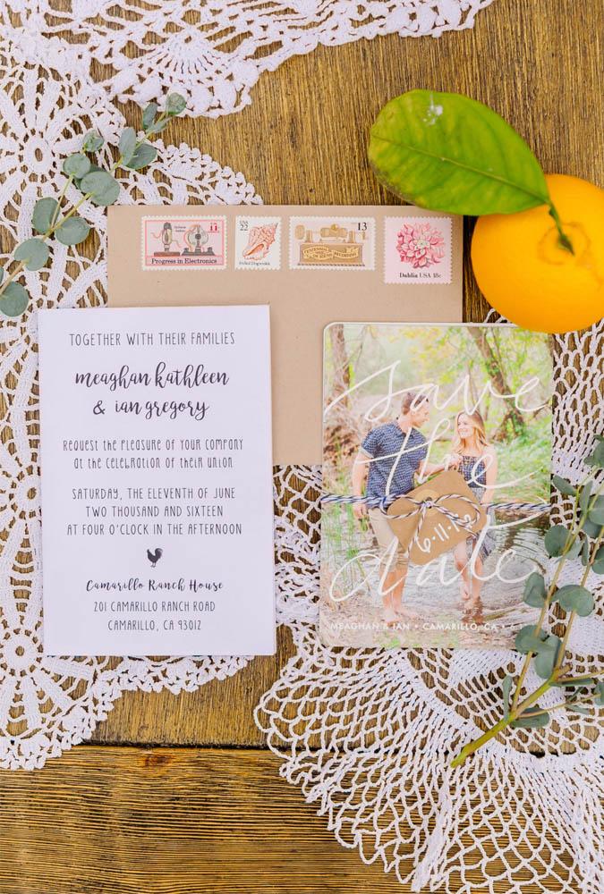 DIY Wedding Invitations, Rustic Farm Invitation Ideas, Magnetic Save the Date